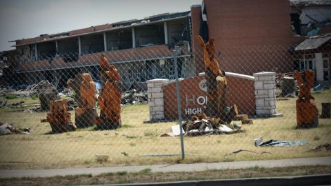 Joplin, Missouri's high school was destroyed by an F5 tornado that ripped through town on May 22, 2011.