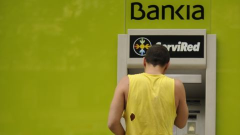 The Spanish government is pouring funds into the troubled Bankia.