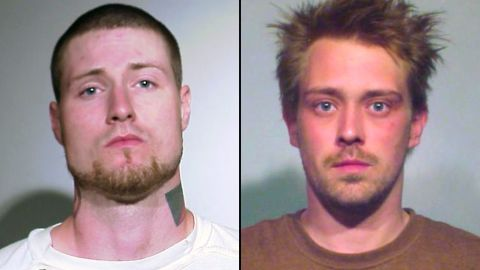 Mark Neiweem, left, and Sebastian Senakiewicz are not believed to be part of an alleged terror plot in Chicago.