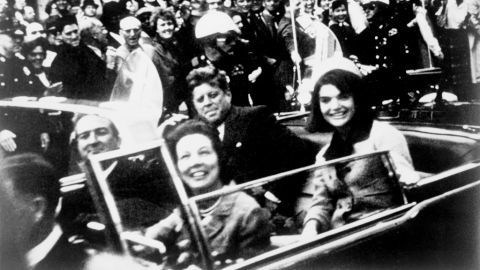 """<a href=""""http://www.cnn.com/SPECIALS/us/jfk-assassination-anniversary"""">President Kennedy was assassinated</a> during a motorcade in Dallas on November 22, 1963."""
