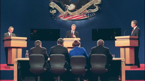 Ross Perot ran a failed presidential campaign in 1992 against Bill Clinton and George Bush.