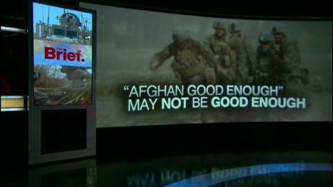 exp amanpour afghanistan good enough a_00004201