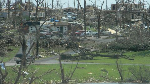"""<a href=""""http://ireport.cnn.com/people/missyjenjen"""">Jennifer Parr</a> shot this photo in southwest Joplin two days after the tornado. """"As devastating as the scenes are, I felt I should take these pictures to help document the aftermath of this historic storm,"""" she said at the time."""