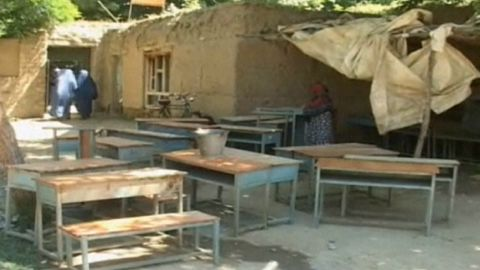A girls school in Takhar Province, Afghanistan, is believed to have been poisoned by the Taliban.