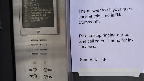 A note from Stan Patz, Etan's father, pleads for privacy from the media during renewed interest in the 33-year-old case in April 2012. The boy's parents have not commented on the new developments in the case.