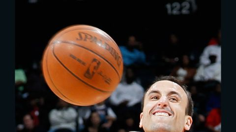 During the playoffs, Manu Ginobili has averaged 11.3 points, 4.5 assists and 3.3 rebounds.