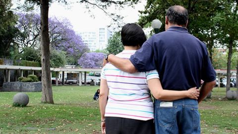 Carlos and Adriana enjoy being with someone who understands their schizophrenia.