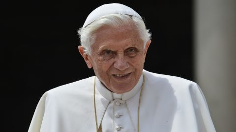 """Pope Benedict XVI is said to be """"saddened"""" by news of the arrest."""