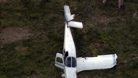 The collision happened above Fauquier County about five miles south of the Warrenton-Fauquier Airport.