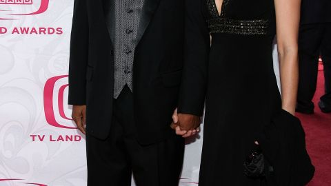 Todd Bridges and Dori Smith attend the 5th annual TV Land awards on April 20, 2007