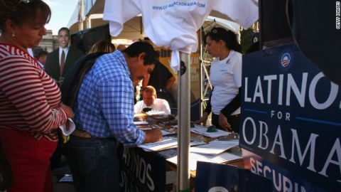 Latinos backed Barack Obama in big numbers in 2008. Critics of new voter ID laws say the laws could discourage turnout in 2012.