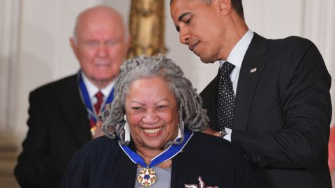 """Toni Morrison was the first African-American woman to win the Nobel Prize.  Among her most famous works are """"Song of Solomon,""""  """"Jazz"""" and """"Beloved."""""""