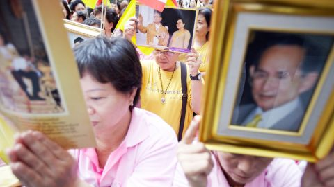 Thailand's laws stipulate punishment for anyone defaming, insulting or threatening the royal family.
