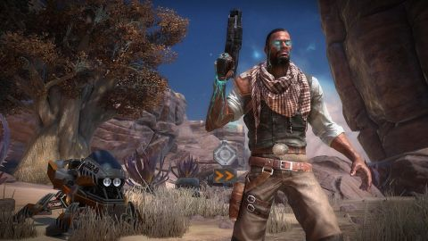 """Unique mechanics and strong multiplayer action more than make up for weak characters and story in """"Starhawk."""""""