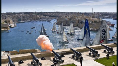 """So far, the """"Esimit Europa 2"""" has claimed 11 consecutive wins -- breaking two course records in her 2010 rookie season."""