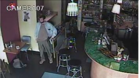 The gunman responsible for Wednesday's shooting was caught on tape.