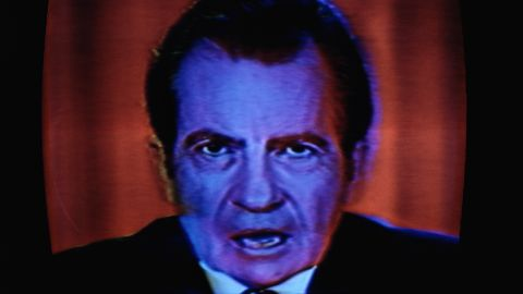 """<strong>Richard Nixon</strong>, who resigned as president after the Watergate scandal, famously said during a 1973 press conference:  """"In all of my years in public life, I have never obstructed justice. ... People have got to know whether or not their president is a crook. <a href=""""http://www.youtube.com/watch?v=sh163n1lJ4M"""" target=""""_blank"""" target=""""_blank"""">Well, I'm not a crook</a>."""""""