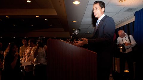 """Then-Rep. <strong>Anthony Weiner</strong>, D-New York, who got caught up in a Twitter photo scandal, told <a href=""""http://cnnpressroom.blogs.cnn.com/2011/06/01/rep-weiner-i-dont-know-what-photographs-are-out-there-in-the-world-of-me/"""">CNN's Wolf Blitzer</a>: """"I had no idea what happened that night. ... Sometimes a prank is a prank."""""""