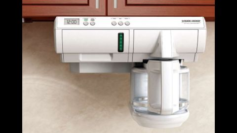 Sales of the under-cabinet Spacemaker coffeemaker were halted last month when the recall was deemed necessary.