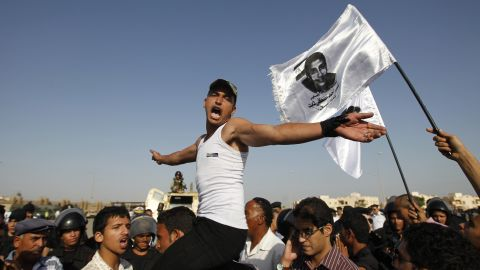 Youths led Arab Spring protests that toppled Hosni Mubarak in Egypt.