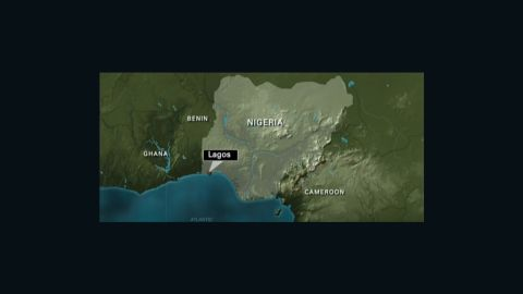 Map shows location of crash