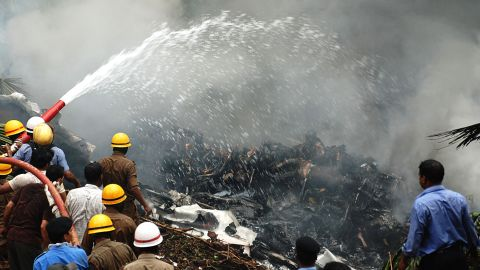 An Air India plane crash killed 158 people on May 22, 2010, after the jet overshot a runway in Mangalore, crashed into a ravine and burst into flames.
