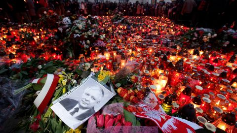A plane carrying Polish President Lech Kaczynski crashed as it tried to land at an airport near the Russian city of Smolensk on April 10, 2010. Kaczynski was among the 97 people killed.