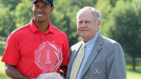 Nicklaus founded the PGA Tour's Memorial Tournament in 1976. It has been won a record five times by Tiger Woods, who is still chasing Nicklaus' milestone 18 major titles. Woods has been stuck on 14 since 2008.