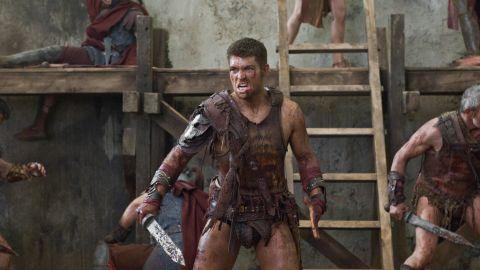 "Liam McIntyre stars as Spartacus in ""Spartacus."""