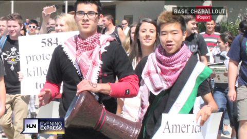 evxp student raises Syria awareness_00012102