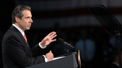 """Andrew Cuomo (in 2014): """"I'm focusing on running for governor. And then I'm going to focus on being the best governor I can be."""""""