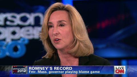 ac romney blame record governor_00005324
