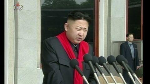 hancocks nkorea kim speaks kids rally_00004408