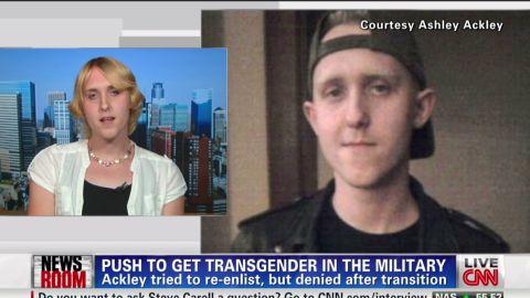 Transgender Veteran On Frontlines Of Change _00020025