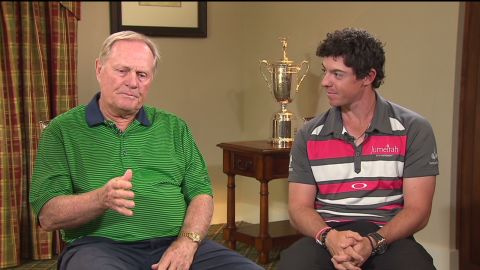 Nicklaus is full of praise for modern golfing stars such as four-time major winner Rory McIlroy of Northern Ireland.