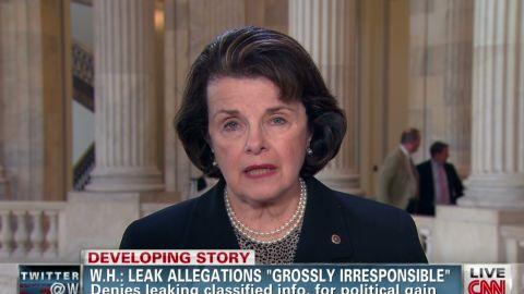 tsr feinstein white house leaks_00001130
