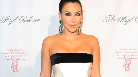"""Kim Kardashian said of the undergarment, """"It just really smoothes everything out."""""""
