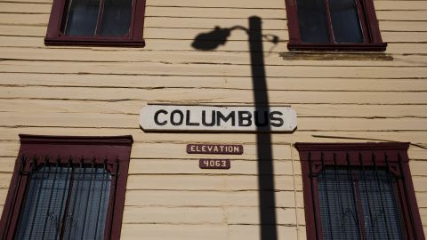 Once home to a military base and train station, the village of Columbus has shrunk to just more than 2,000 people and has seen its tourism shrink after border violence flared in recent years.