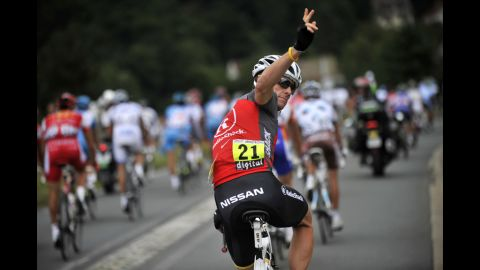 Armstrong finished 23rd in the 2010 Tour de France. He announced his retirement from the world of professional cycling in February 2011. He said he wanted to devote more time to his family and the fight against cancer.