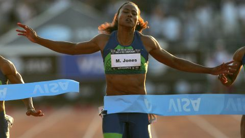 """In 2008, Olympic track star Marion Jones was <a href=""""http://www.cnn.com/2008/CRIME/01/11/jones.doping/"""">sentenced to six months in prison</a> for lying to federal prosecutors investigating the use of performance-enhancing substances."""