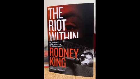 """In his book, """"The Riot Within: My Journey From Rebellion to Redemption,"""" King writes about his experience during the riots and in the media spotlight."""