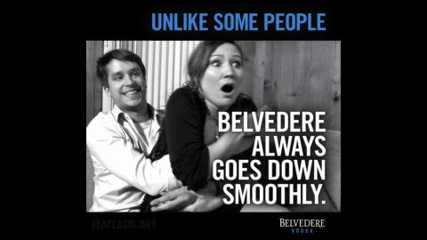 """In March 2012, Belvedere Vodka posted a controversial ad on its Facebook page that many felt implied rape. Belvedere's senior vice president of marketing <a href=""""http://www.cnn.com/2012/03/25/showbiz/vodka-ad-controversy/"""">posted an apology,</a> saying the ad also offended """"the people who work here at Belvedere."""""""