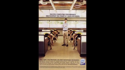 """In 2007, computer chip maker Intel was forced to retract an ad that many considered racist. """"Intel's intent ... was to convey the performance capabilities of our processors through the visual metaphor of a sprinter,"""" <a href=""""http://blogs.intel.com/technology/2007/07/sprinter_ad/"""" target=""""_blank"""" target=""""_blank"""">an Intel official wrote online.</a> """"We have used the visual of sprinters in the past successfully. Unfortunately, our execution did not deliver our intended message and in fact proved to be insensitive and insulting. ... We are sorry and are working hard to make sure this doesn't happen again."""""""