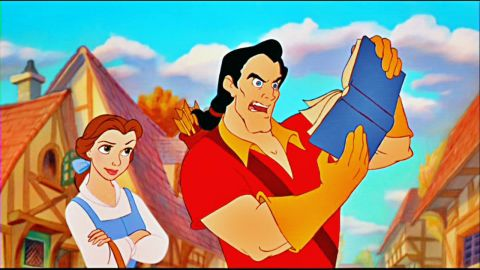 """Belle is literate and brave. She takes care of her father, fends off an arrogant hunk and teaches table manners to an enchanted prince in 1991's """"Beauty and the Beast."""""""