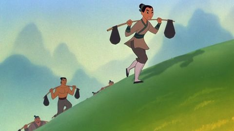 """Mulan bent traditional gender roles when she took her father's place in the Chinese army in 1998's """"Mulan."""""""