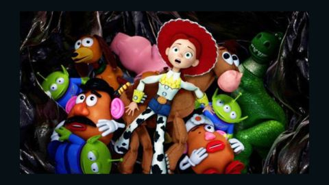 """Despite being abandoned by her former owner, """"Toy Story's"""" Jessie -- a central character in """"Toy Story 2"""" (1999) and """"Toy Story 3"""" (2010) -- is upbeat and ready for action. She even gives Woody and Buzz Lightyear a run for their money."""