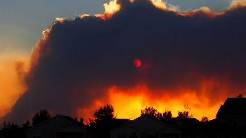The High Park Fire, which was 45% contained as of June 23, has destroyed 191 homes west of Fort Collins.