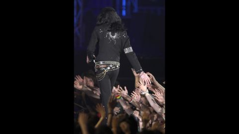 Michael Jackson earned the Legend Award during the MTV Video Music Awards in Tokyo in 2006.