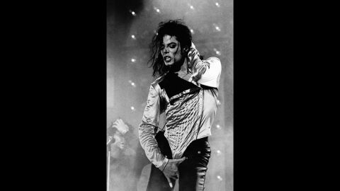 Jackson performs in Rotterdam, Netherlands.