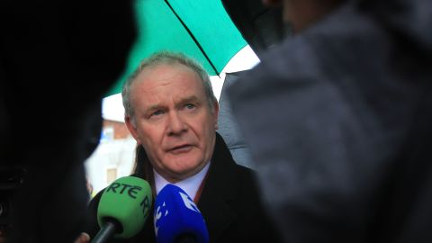 """<a href=""""http://www.cnn.com/2017/03/21/europe/martin-mcguinness-dead/index.html"""" target=""""_blank"""">Martin McGuinness</a>, the former Irish Republican Army commander who was also a deputy first minister of Northern Ireland, died March 21 after a short illness, according to a statement released by the Sinn Fein party. He was 66. McGuinness became Sinn Fein's chief negotiator during the Northern Ireland peace process, working with US President Bill Clinton on the 1998 Good Friday Agreement."""